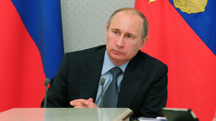 Russia has recession 'safety blanket' - Putin