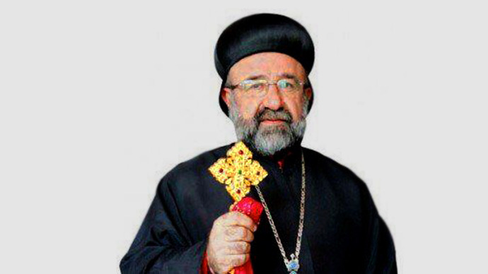The Syrian Orthodox Archbishop of Aleppo, Mar Gregorios Yohanna Ibrahim. (Image from facebook.com)
