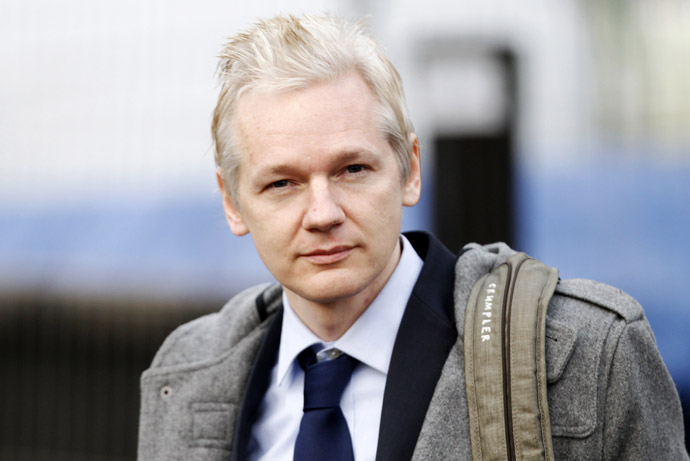 Wikileaks founder Julian Assange (Reuters/Andrew Winning)