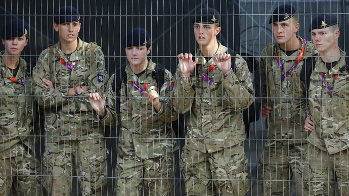 'Stop recruiting minors!': UK army urged to halt 'outdated' practice