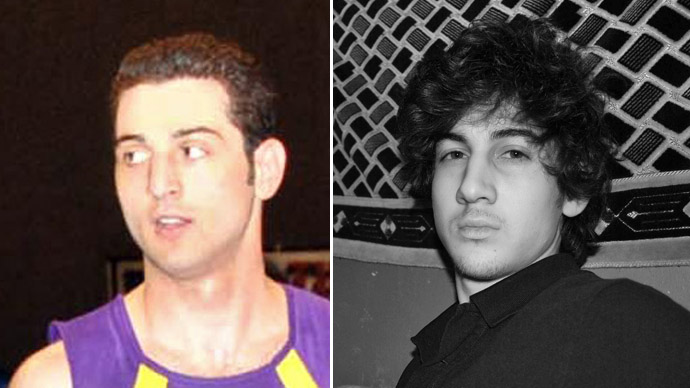 The Tsarnaev brothers (AFP Photo/VKontakte)