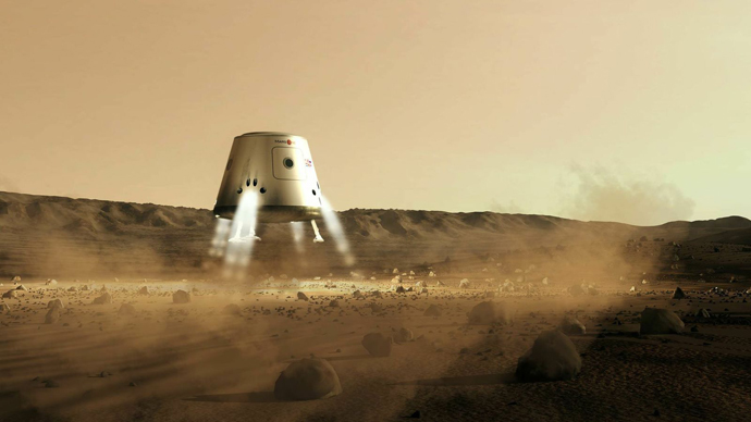 Image by Bryan Versteeg / Mars One