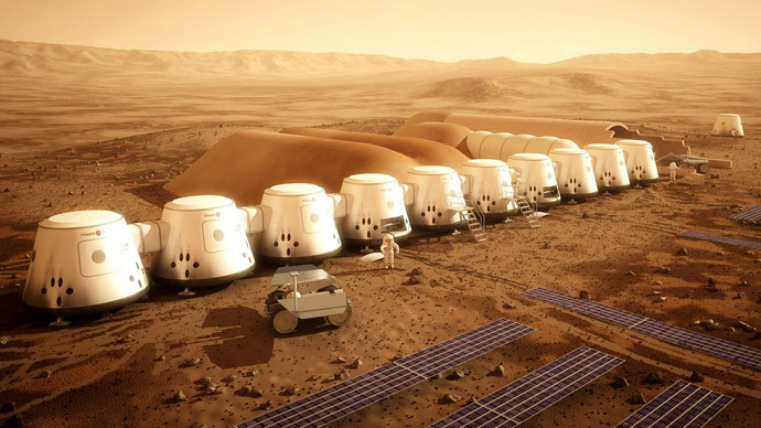 Dutch reality show seeks volunteers for a getaway to the first human colony on Mars