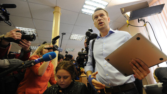 Kirov's Lenin District Court resumed hearing of the Kirovles embezzlement case. (RIA Novosti / Ramil Sitdikov)