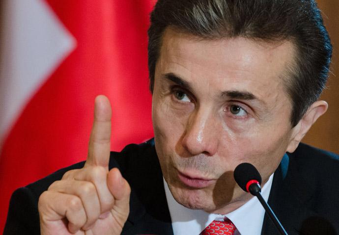 Georgian Prime Minister Bidzina Ivanishvili (RIA Novosti/Alexander Imedashvili)
