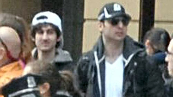 Dzhokhar (L) and Tamerlan Tsarnaev (RIA Novosti / Federal Bureau of Investigation)
