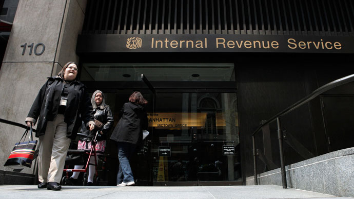 Revealed: IRS targeted groups critical of government