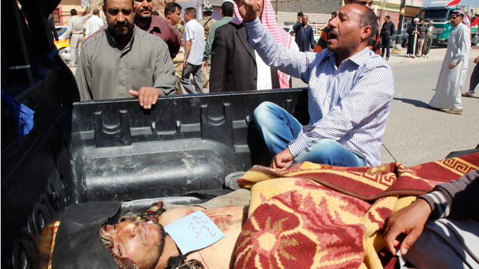 Iraq clashes between army and Sunni tribesmen kill 169 in three days