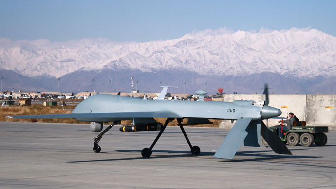 US combat drones to stay in Afghanistan beyond 2014