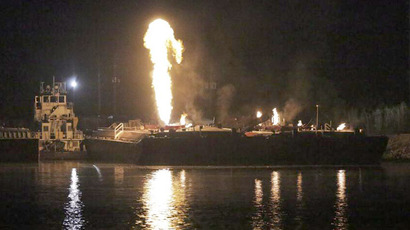 Massive explosion rocks Marathon Detroit Refinery