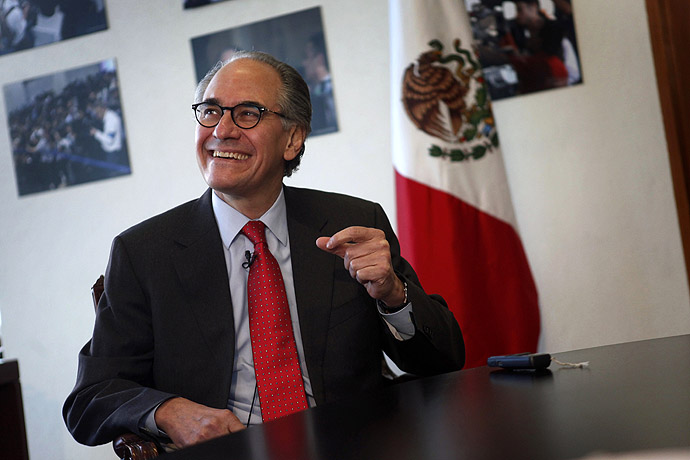 Herminio Blanco, Mexican candidate to head the World Trade Organization (WTO) (Reuters/Edgard Garrido)