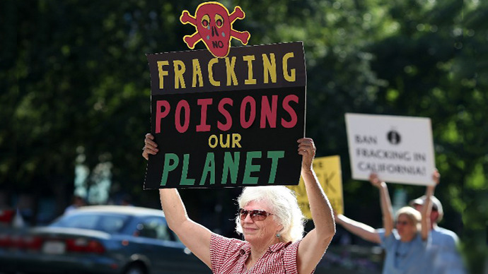 Fracking debris considered too radioactive even for waste site