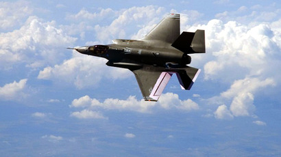 Pentagon waived sanctions rules on Chinese parts for F-35 fighter