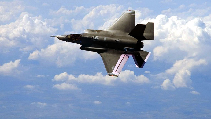 Pentagon in PR fight over F-35 fighter jets' cyber vulnerabilities