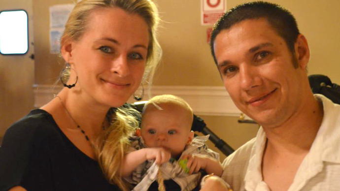 US Russian couple seeking answers after police 'ripped baby from their arms'