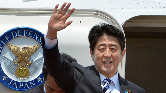 Japanese PM visits Russia to build 'personal confidence-based relations'
