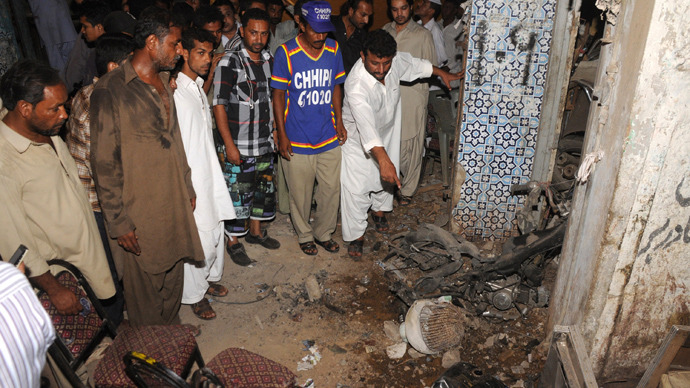 Four bombs kill 12 in Pakistan ahead of elections, Taliban vow more deaths