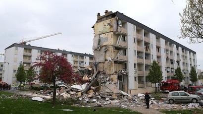 Powerful explosion rocks central Prague, dozens injured (PHOTOS, VIDEO)