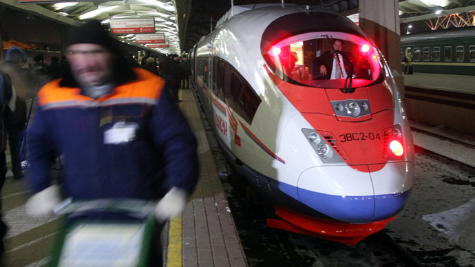 Speeding up trains in Russia