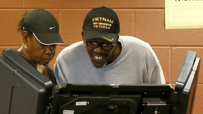 Blacks vote more actively than whites for the first time