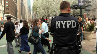 Number of stop-and-frisk searches in NYC down by 80 percent
