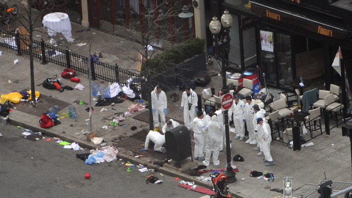 Boston Marathon bombing investigators find new, female DNA evidence