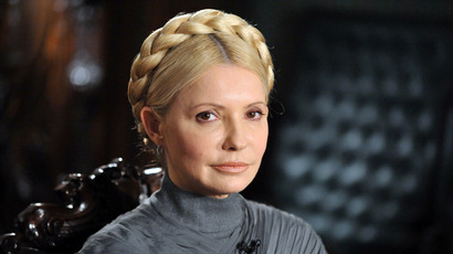 Freed Ukraine ex-PM Tymoshenko tells Maidan to carry on the fight