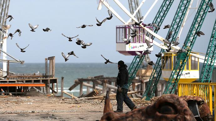 Hurricane Sandy dumped 11 billion gallons of sewage into New York water