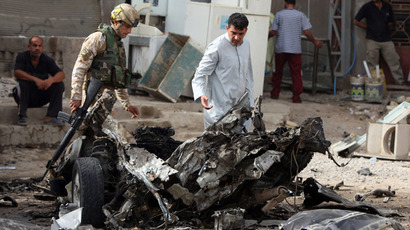 Blasts kill over 35 in Iraq as sectarian violence spikes