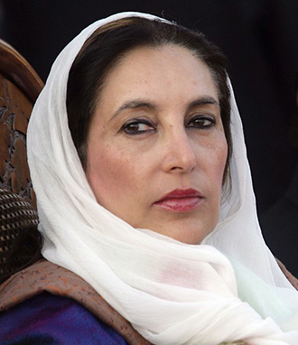 Pakistan opposition leader Benazir Bhutto was assassinated in a suicide attack in December 2007. (AFP Photo / Aamir Qureshi)