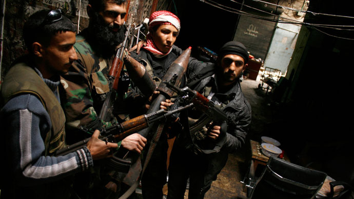 UN notes 'concrete suspicions' that Syrian rebels used chemical weapons