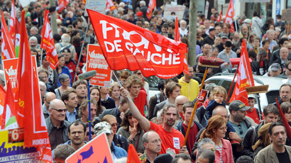 More than 10,000 French protesters clash with police over 'ecotax' (VIDEO, PHOTOS)