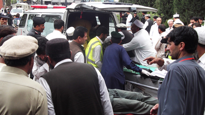 At least 25 killed, 65 injured in Pakistan election rally bomb attack