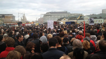 Moscow allows opposition protest march on Russia Day