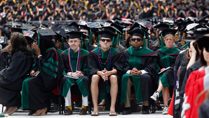 Student debt, job market creating 'generation of wage slavery'