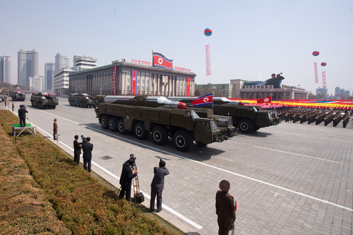 Musudan-class missiles (AFP Photo / Ed Jones)