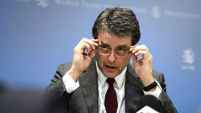Brazil's Roberto Azevedo gets top WTO post