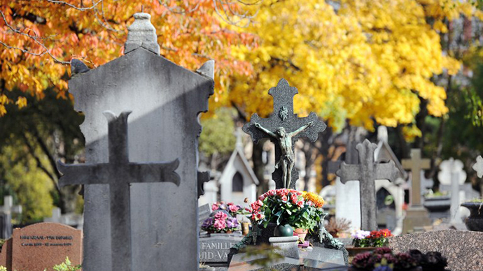 Tax bill sent to man's grave in France 'out of nowhere'