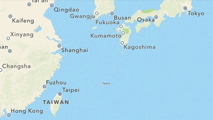 Okinawa, Naha (Google map)