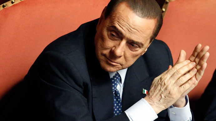 Italy appeals court sentences ex-PM Silvio Berlusconi to 4 years in jail over tax fraud - RT News