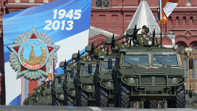 Moscow Red Square parade: Russia celebrates WWII Victory Day