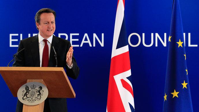 Britain's Prime Minister David Cameron.(Reuters / Yves Herman)