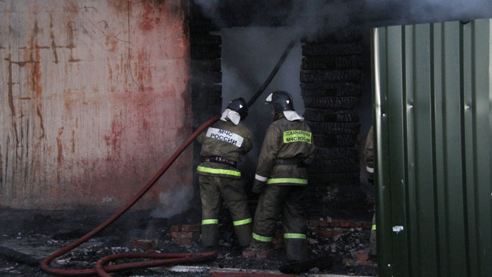 Apartment block fire in Moscow region kills 1, injures 7