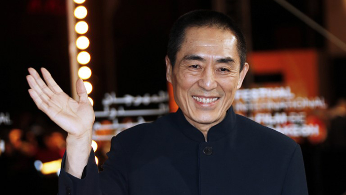 Chinese director Zhang Yimou. (AFP Photo / Valery Hache)