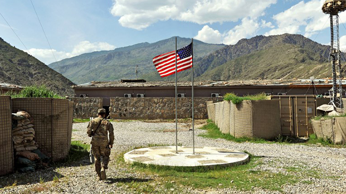 US wants 9 permanent bases in Afghanistan after 2014 ISAF withdrawal