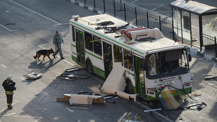 Blast rips through Moscow bus on Victory Day