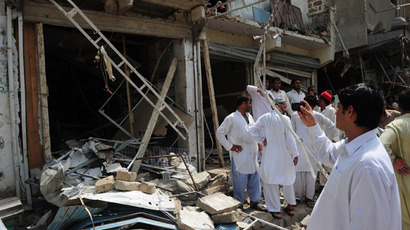 At least 30 dead in Pakistan funeral bombing (VIDEO)