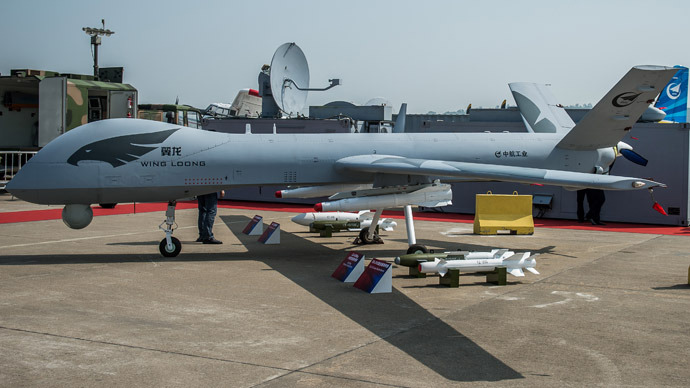 First Chinese stealth drone 'ready' for test flight
