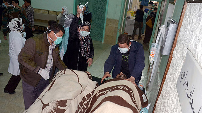 Anti-Syria hysteria? US pushes chemical weapons claim
