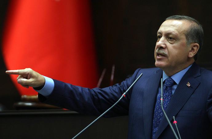 Turkish Prime Minister Recep Tayyip Erdogan (AFP Photo / Adem Altan)